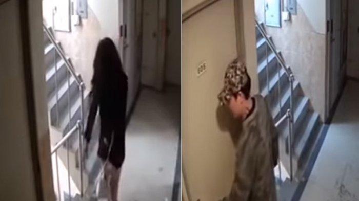 Wanita Ini Nyaris Jadi Korban Perkosaan. Lihat Aksi Pelaku yang Terekam CCTV