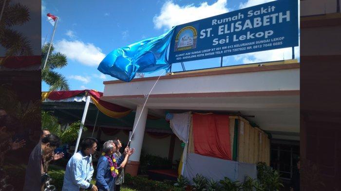 Rumah Sakit St.Elisabeth Sei Lekop Diresmikan. Warga Sagulung: Sekarang Tak Jauh Lagi Pergi Berobat