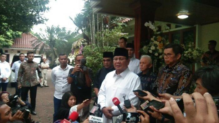 Permintaan Maaf Prabowo Tak Hadiri Proses Pemakaman Ibu Ani Yudhoyono: Ternyata Saya Terlambat . .