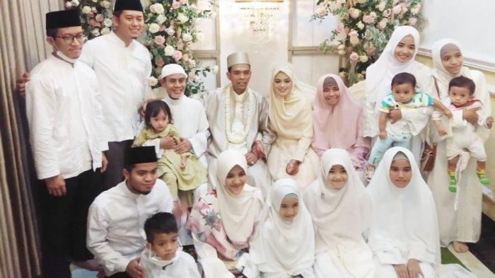 Foto Resepsi Pernikahan Ustaz Abdul Somad dan Fatimah Az Zahra, Gubernur dan Artis Hadir