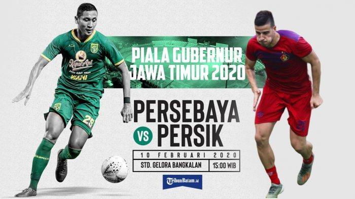 Live Streaming Persebaya vs Persik Kediri Kick Off Pukul 15.30 WIB Live MNC TV