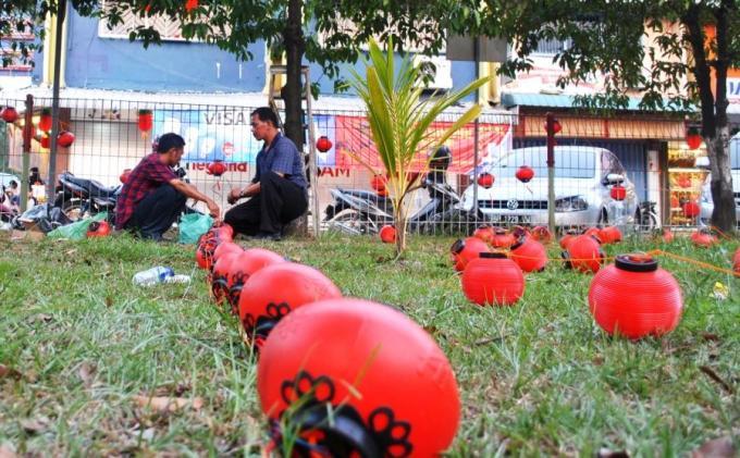 Sambut Imlek, Ratusan Lampion Merah Bakal Dipasang di Nagoya
