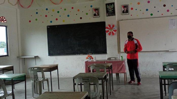 Satu Kelas Hanya Diisi 18 Pelajar, Sekolah di Karimun Sambut Tahun Ajaran Baru Saat Pandemi Covid-19