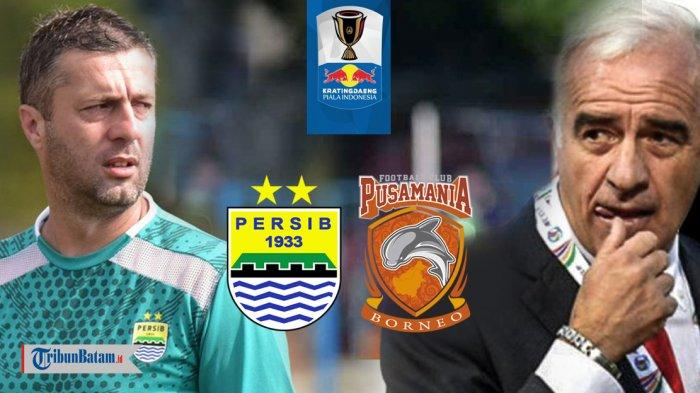 Prediksi Borneo FC vs Persib Bandung Piala Indonesia, Pembuktian Mario Gomez untuk Pesut Etam?