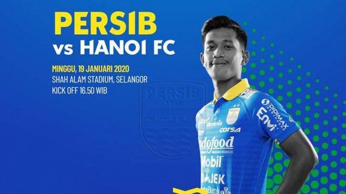 Live Streaming Persib vs Hanoi FC, Kick Off Pukul 16.00 WIB, Pembuktian Wander Luiz & Joel Vinicius