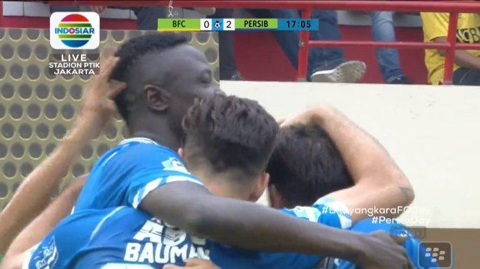 Hasil Babak Pertama Bhayangkara FC vs Persib Bandung - Maung Bandung Sementara Unggul 2-0