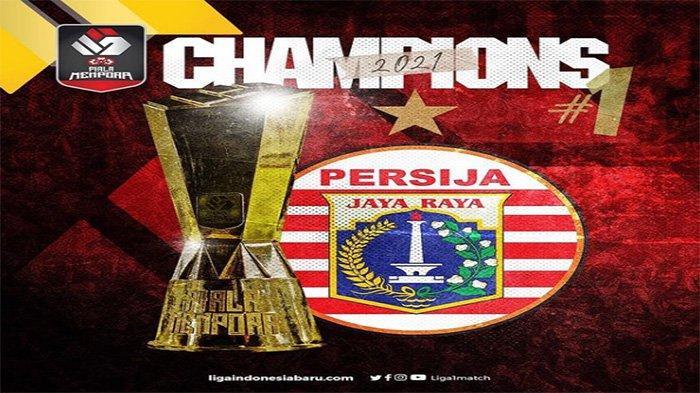 Persija Jakarta Juara Piala Menpora 2021, Bungkam Persib Bandung di Leg Pertama dan Kedua