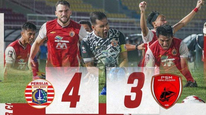 Persija Menang Adu Penalti Lolos ke Final Piala Menpora 2021, Sudirman: Kami Tak Pilih Lawan