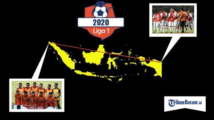 Liga 1 2020 - Persipura dan Persiraja Akan Lakukan Perjalanan Terjauh, Jaraknya 5.121 Kilometer
