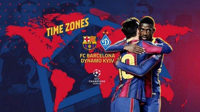 Jadwal Liga Champions Hari Ini Istanbul Basaksehir vs Man United, Barcelona vs Dynamo Kiev Live SCTV