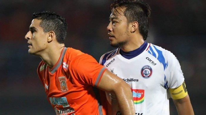 Hasil Liga 1 2019 Borneo FC vs Arema FC, Borneo Menang 2-0, Mario Gomez: Ini Kemenangan Penting