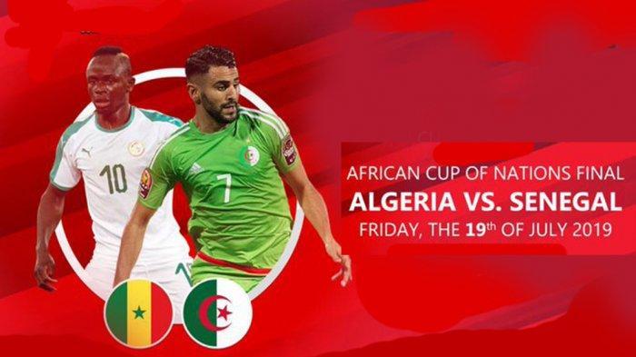 Jadwal Final Piala Afrika 2019 Senegal vs Aljazair, Sadio Mane Incar Gelar Pertama