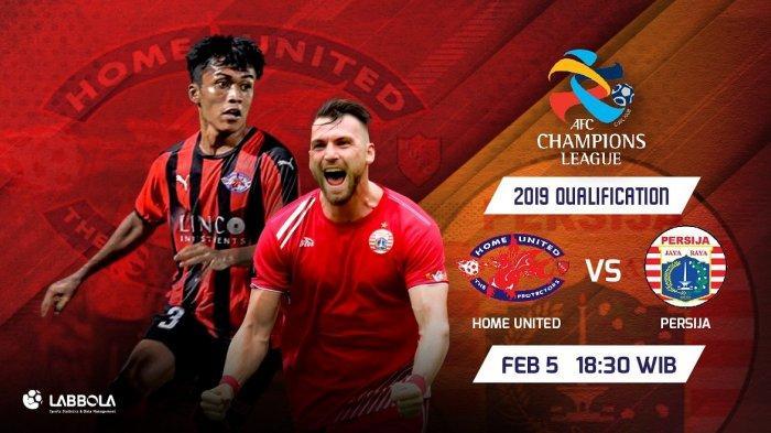 Link Live Streaming Home United vs Persija Malam Ini, Kick Off Jam 18.30 WIB, Duet Maut Beto-Simic
