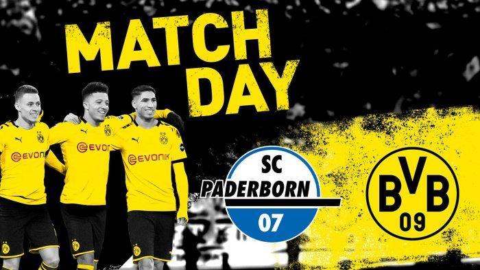 Jadwal Liga Jerman Malam Ini Paderborn vs Dortmund, Erling Haaland Tak Main, Peluang Jadon Sancho