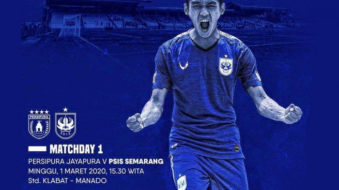 Link Live Streaming Persipura vs PSIS Semarang Kick Off Pukul 14.30 WIB, Live Vidio.com