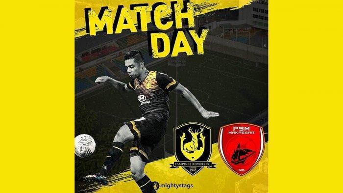 Jadwal AFC Cup 2020 Hari Ini Tampines Rovers vs PSM Makassar, Kick Off Pukul 19.45 WIB
