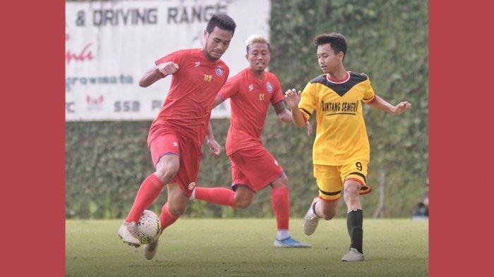 BERITA AREMA FC - Hasil Ujicoba Arema FC vs Bintang Semeru FC Rabu (22/1) Pagi, Arema FC Menang 10-1