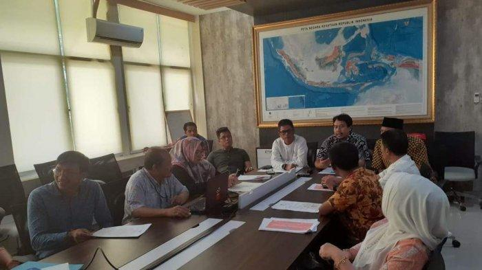 Datangi  Badan Informasi Geospasial, Ini Harapan Pansus Pemekaran Kecamatan Kute Siantan Anambas