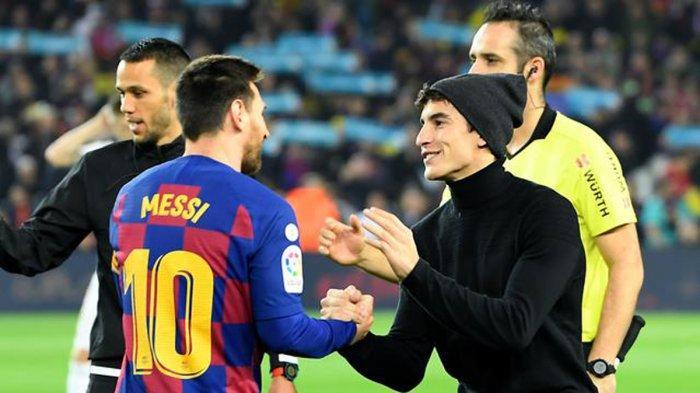 Saking Idolanya Sama Lionel Messi, Marc Marquez Mengaku Serasa Mau Mati Saat Momen Ini Terjadi