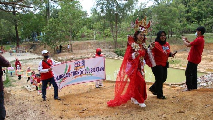 Bertema Merah Putih Khas HUT ke-75 RI, Ada Karnaval di Taman Rusa BP Batam di Kecamatan Sekupang