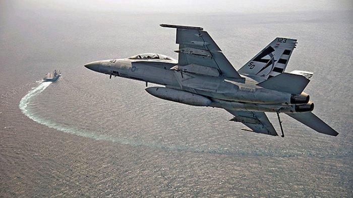 Jet Tempur F-18 Milik Asing Melintas di Perairan Natuna, Begini Penjelasan TNI AU