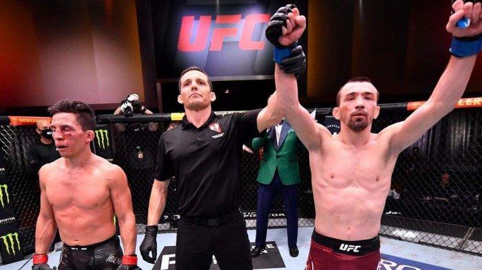 Hasil UFC 259, Agresif Sejak Awal, Askar Askarov Sukses Bikin Joseph Benavidez Menderita