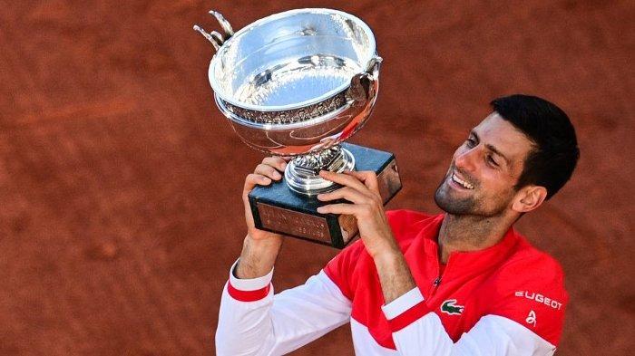Novak Djokovic Juara Grand Slam Prancis Open 2021; Nikmati Dulu Kemenangan Ini, Baru ke Wimbledon