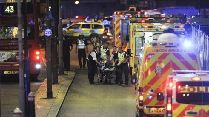 NGERI! Kota London Kembali Diteror. Mobil Van Melaju Kencang dan Tabrak Pejalan Kaki