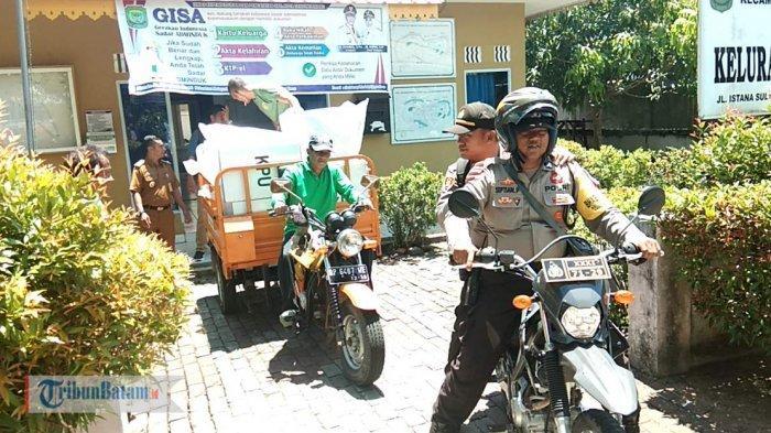 Selain Pengamanan Surat Suara, Polisi Tanjungpinang Juga Patroli untuk Cegah Pelaku Tindak Kejahatan