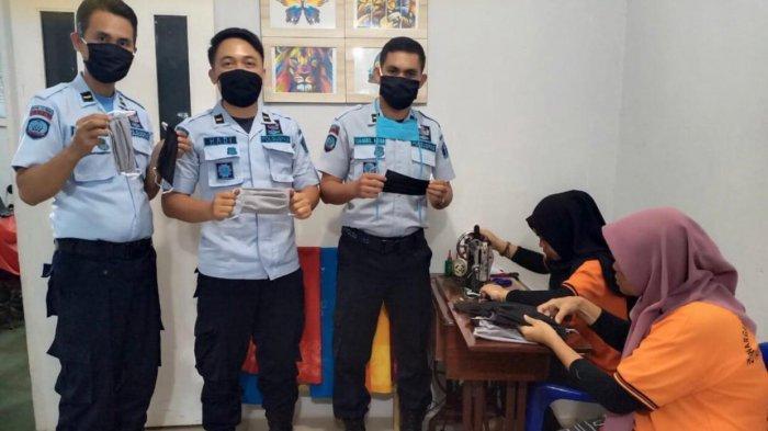 Peduli Corona, Rutan Tanjungpinang Bagikan Masker Hasil Produksi Warga Binaan dan Sembako