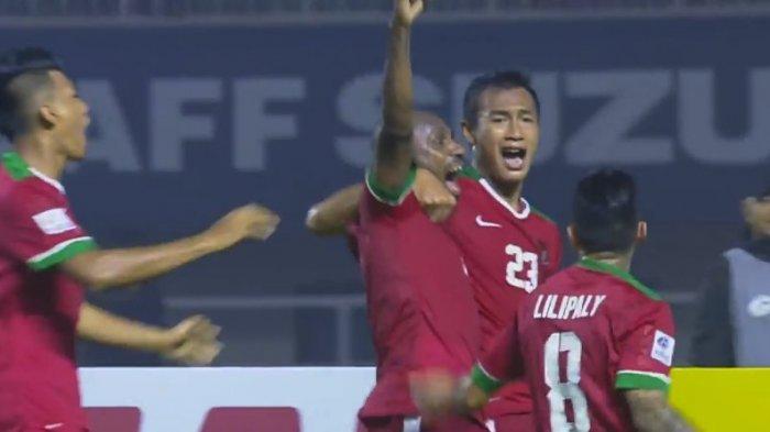 ANEH! Kalah, Menang Atau Seri, Indonesia Selalu Cetak Dua Gol Sepanjang Piala AFF 2016