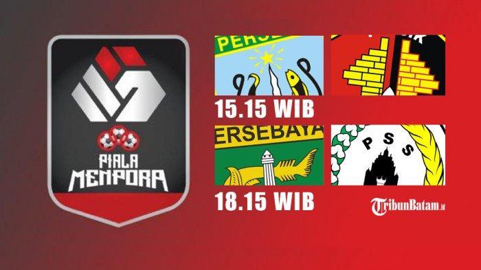 Jadwal Piala Menpora 2021 Hari Ini 15.15 WIB Persela vs Persik, 18.15 WIB PS Sleman vs Persebaya