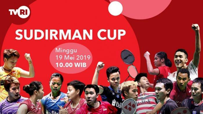 SEDANG BERLANGSUNG Piala Sudirman Indonesia vs Inggris Live TVRI, Marcus/Kevin Main