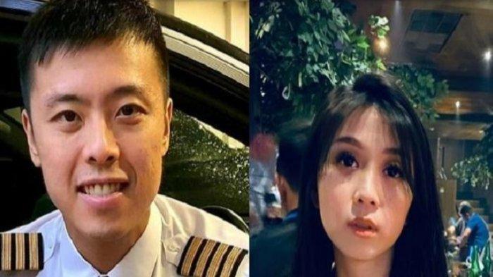 Pilot Kapten Vincent Raditya dan istri Novita Condro