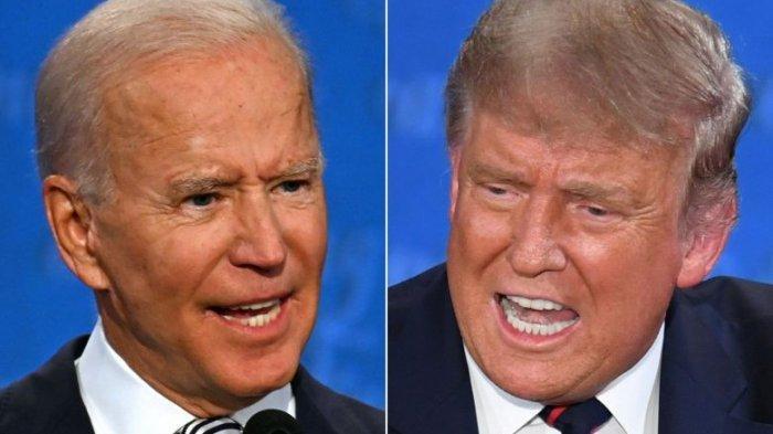 PILPRES AS - Biden mengalahkan Trump dalam jangkauan penonton rating TV pada duel piplres AS.