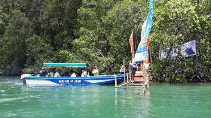Ini Telaga Hijau Spot Wisata yang Baru Ditemukan di Raja Ampat Papua Barat