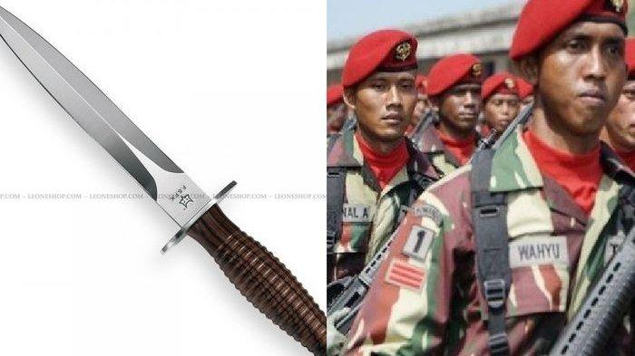 Kehebatan TNI: Pisau Berbilah Dua Kopassus Bikin Nyali Lawan Ciut, Sekali Tusuk Bisa Kena Jantung