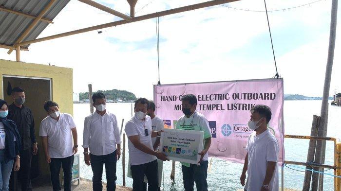 bright PLN Batam Sambut Baik Uji Coba Motor Tempel Listrik Nelayan