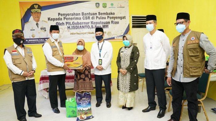 Koordinasi dengan Perbankan, Warga Pulau Penyengat Tanjungpinang Dapat Bantuan CSR dari 2 Bank