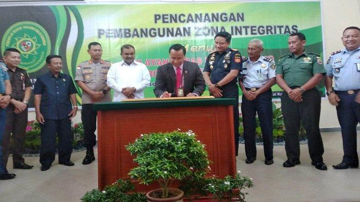 Menuju PN Karimun Bebas Korupsi, Hasil Pengawasan Hakim Dilaporkan ke Pengadilan Tinggi