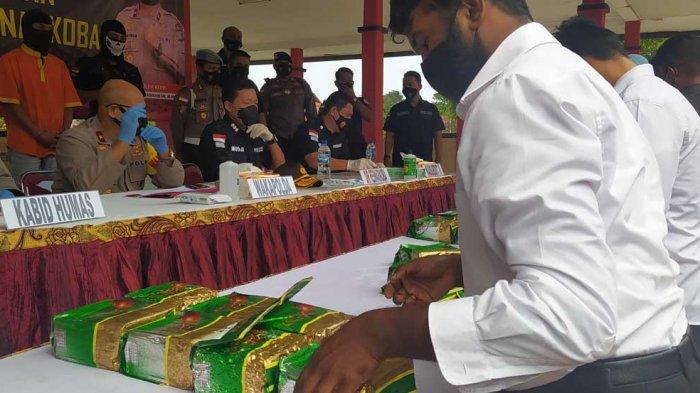 Simpan Sabu-Sabu Dalam Musala, Polda Kepri Ungkap 46 Kg Total Rp 69 Miliar