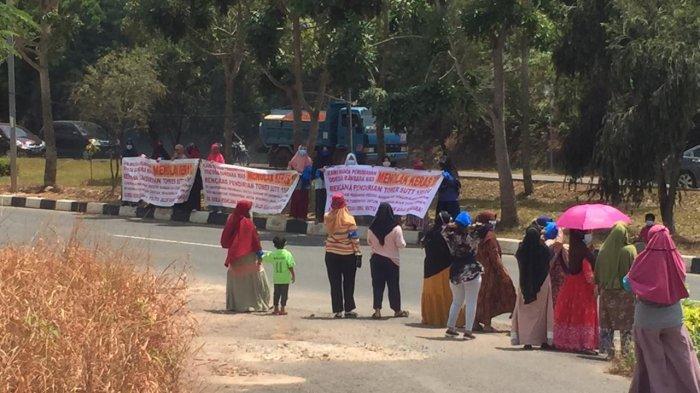 Polemik Proyek Sutet Kecamatan Batam Kota, Warga: Tunggu Putusan Inkrah, Tetap Menolak