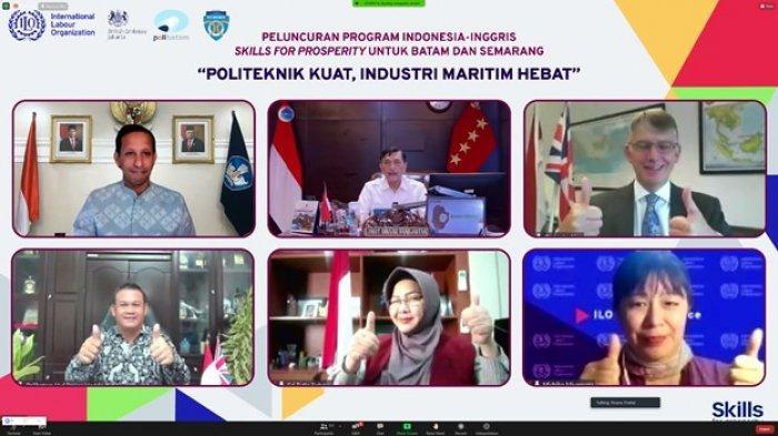 Inggris dan Indonesia Kerja Sama Bangun Tenaga Kerja Maritim yang Berdaya Saing Global