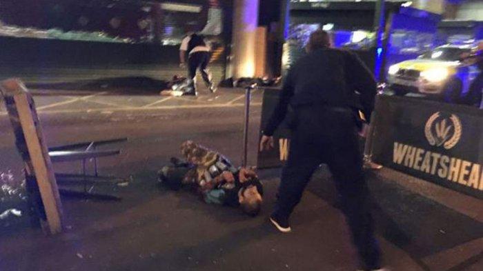 Korban Teror di London Menjadi 7 Orang. Puluhan Orang Kritis. ISIS Mengaku Bertanggungjawab