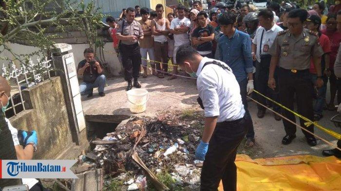 Cerita Putra Saat Temukan Mayat Bayi Ketika Bakar Sampah di Batuaji: Apinya Sudah Nyala 15 Menit
