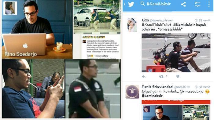 JANUARI: Ini Sosok Polisi Ganteng yang Heboh Lewat Tagar #KamiNaksir