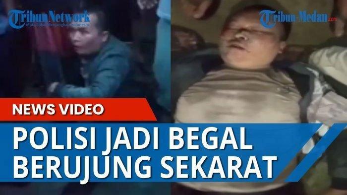 FAKTA Lengkap Oknum Polisi Jadi Begal, Bripka Joko Albari Sekarat Diamuk Massa Rampok Motor Wanita