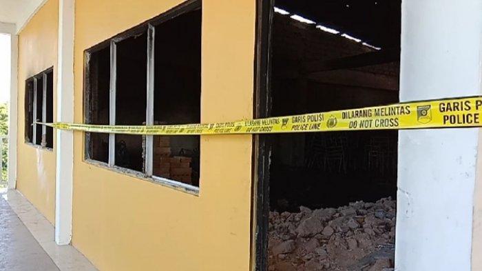 Diduga dari Karpet Sintesis, Ini Kata Kapolsek Batam Kota Soal Kebakaran di Sekolah Sultan Agung