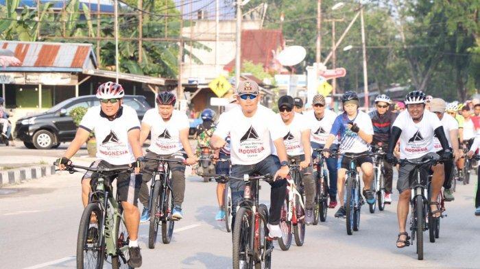 Polres Karimun Gelar Fun Bike dan Jalan Santai Untuk Tingkatkan Sinergisitas dan Kebersamaan