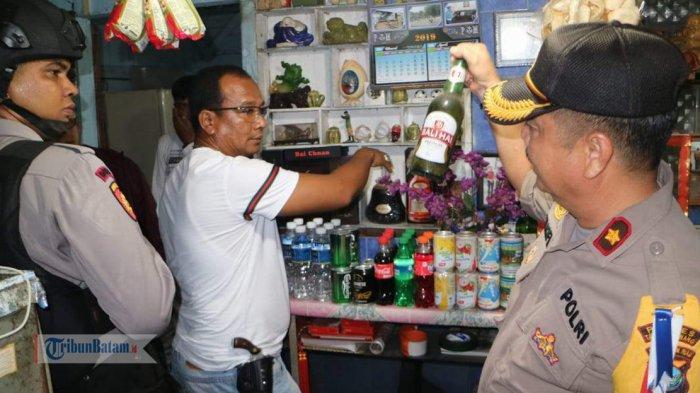 Jelang Ramadhan, Polres Tanjungpinang Gelar Razia Sejumlah Cafe dan Tempat Hiburan Malam
